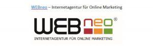 Logo der Agentur webneo