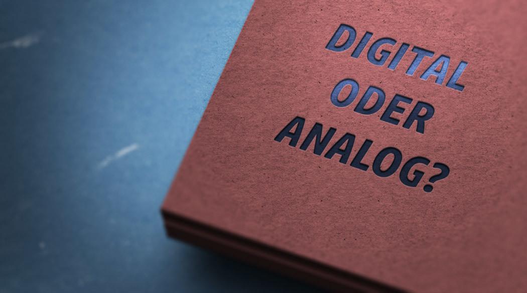 Digital versus Print?