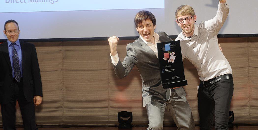 "Logoloop® Sieger in der Kategorie ""Bestes Direct Mailing Deutschlands"""