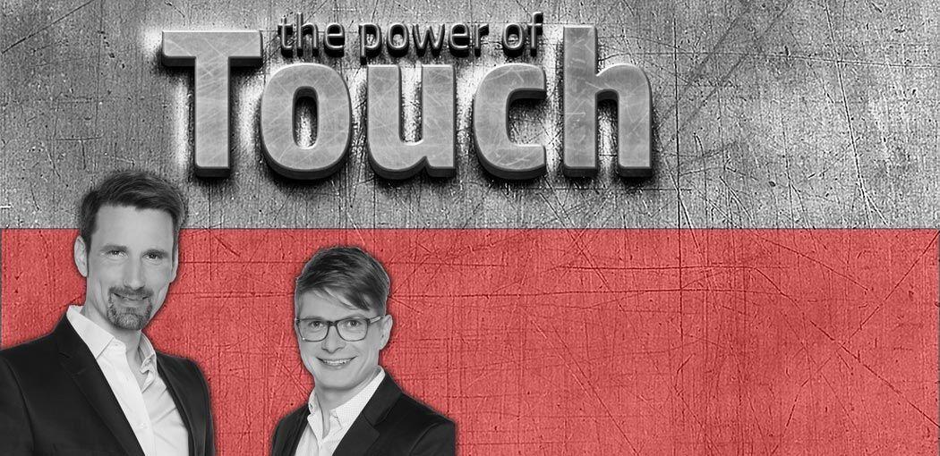 Selbastian Haupt und Olaf Hartmann, Autoren des Buches Touch! Der Haptik Effekt