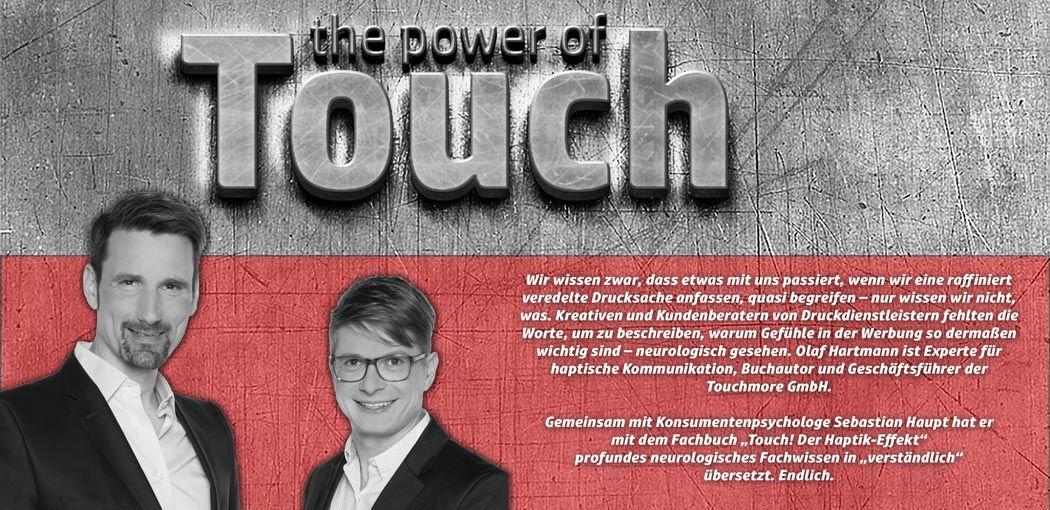 Olaf Hartmann, Sebastian Haupt. Touch! Der Haptik-Effekt.