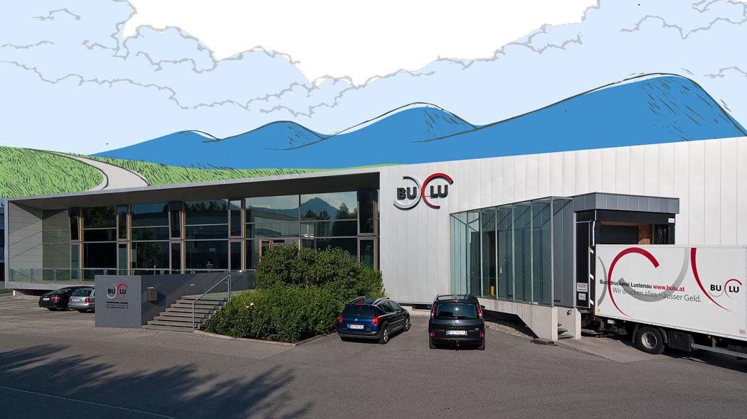 Geschäftsgebäude Buchdruckerei Lustenau