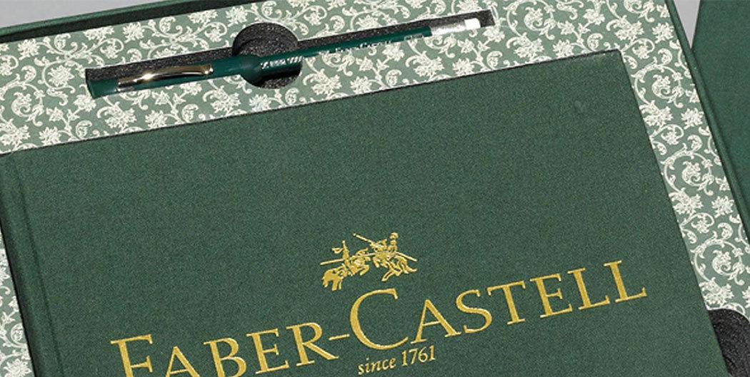 Jubiläumsbuch von Faber Castell, gedruckt und veredelt bei Achilles