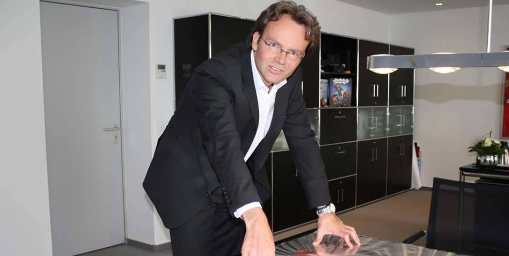 Thorsten Drews, Geschäftsführer der Achilles-Gruppe