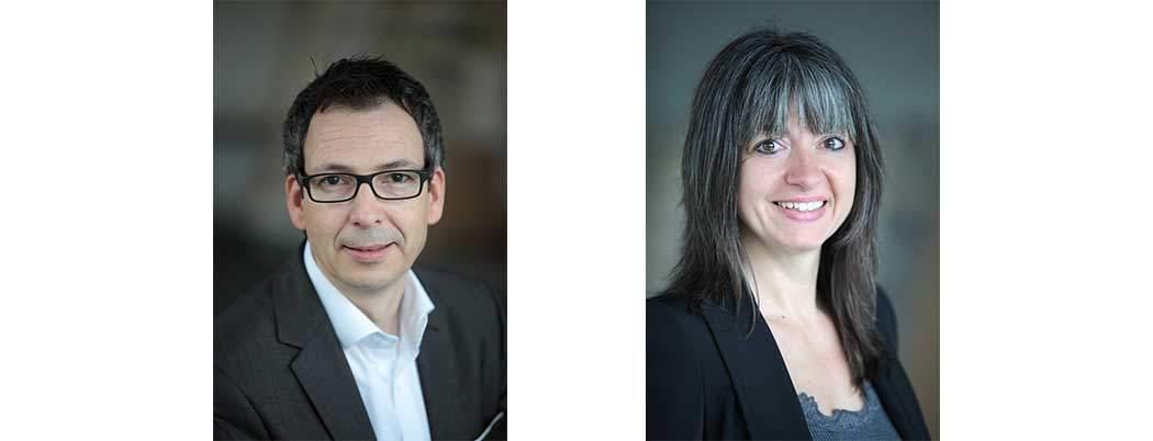 Geschäftsleitung Ottweiler-Druck: Petra Krenn, Dominique Paul