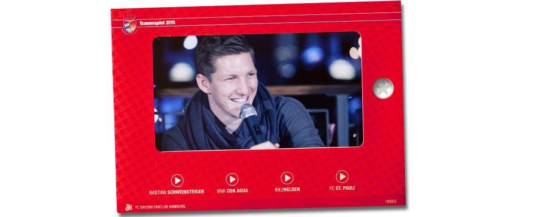 7-Zoll-HD-Monitor als Teil der gedruckten Traumspielbox enthält echte Kurzfilme.