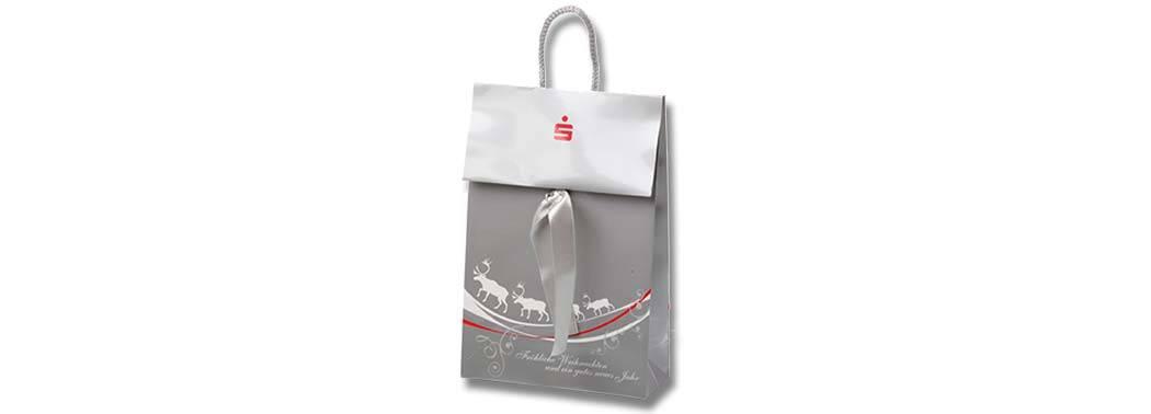 Gestanzte Tragetasche aus Papier, Bags by Riedle