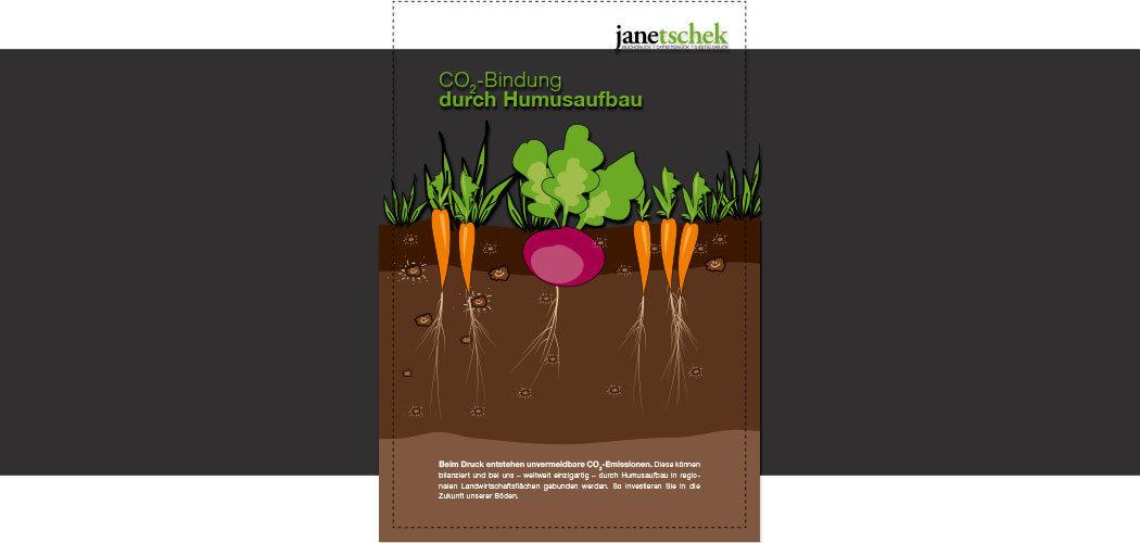 Humus-Projekt, Druckerei Janetschek.