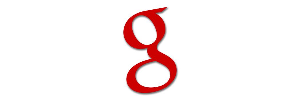 der Buchstabe g von Google