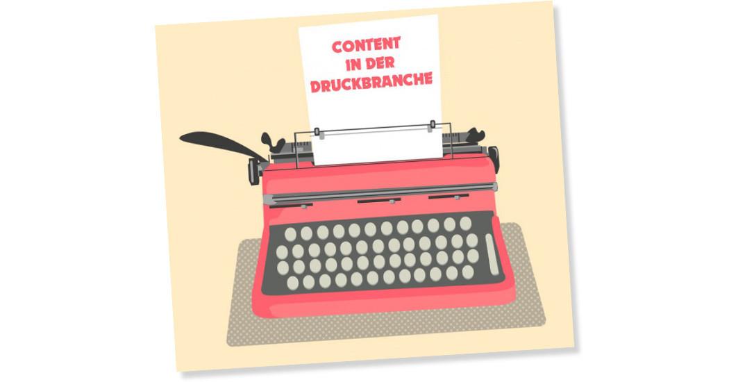 Content in der Druck- und Medienbranche