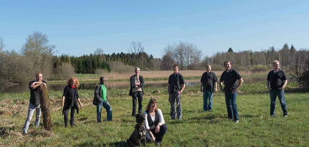 Team Druckerei Ulenspiegel.