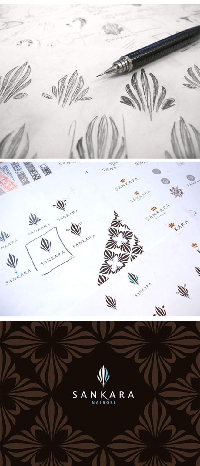 Glazer, Kreation Zebra-Design für afrikanisches Hotel