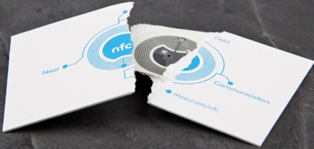 NFC-Visitenkarte