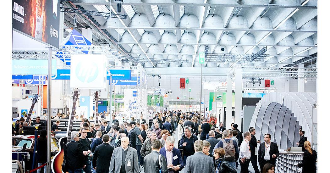 Fachmesse viscom in Frankfurt 2016