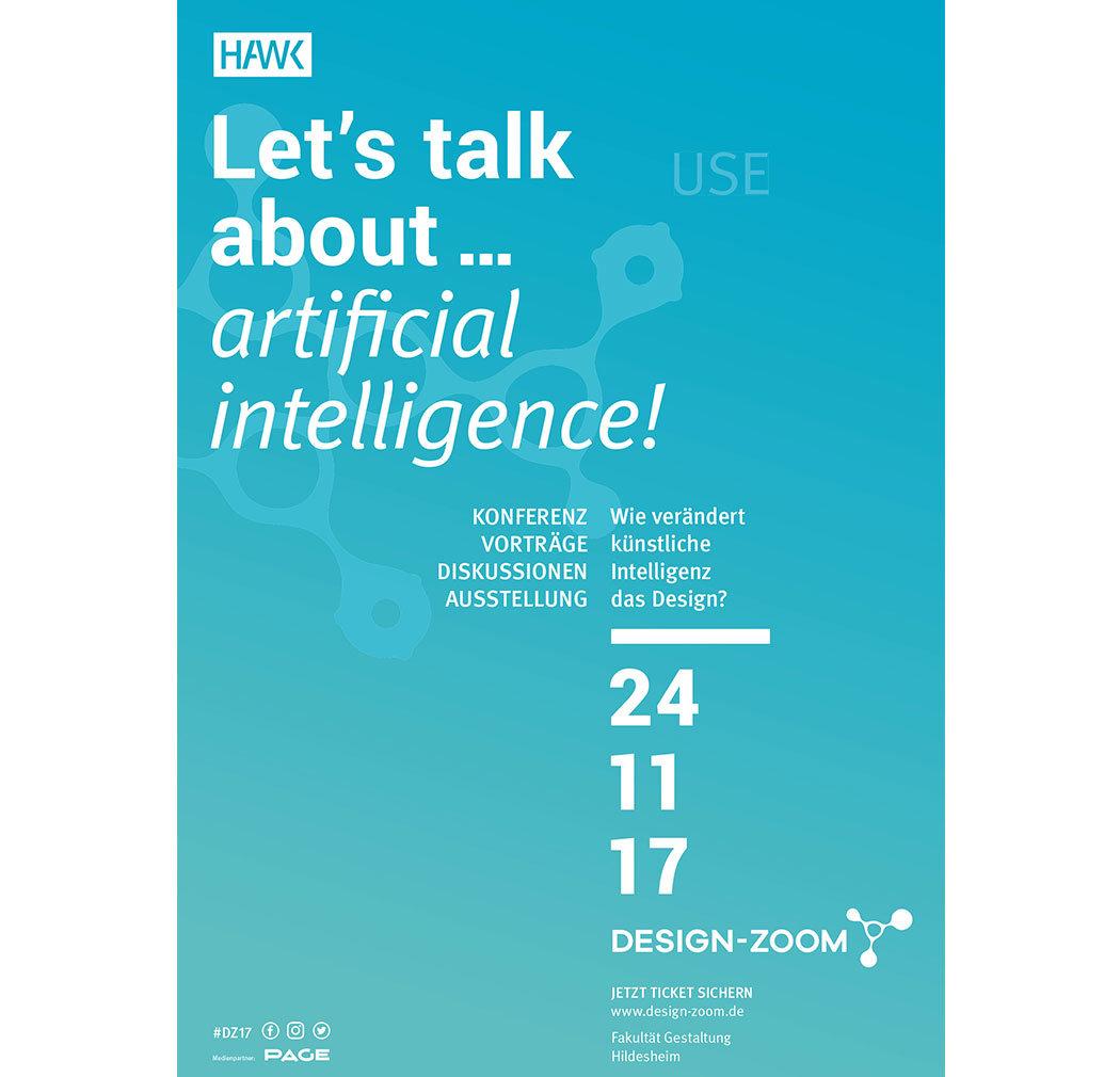 Plakat der Konferenz Design-Zoom