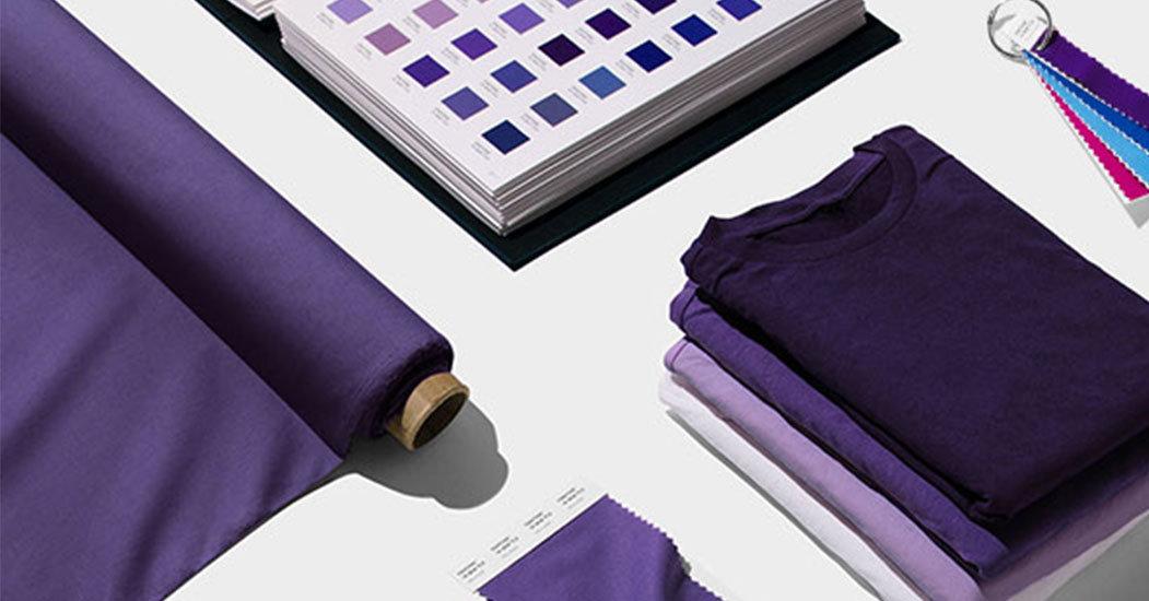 Inspiration. Verschiedene Elemente in Lila und Ultra Violet.