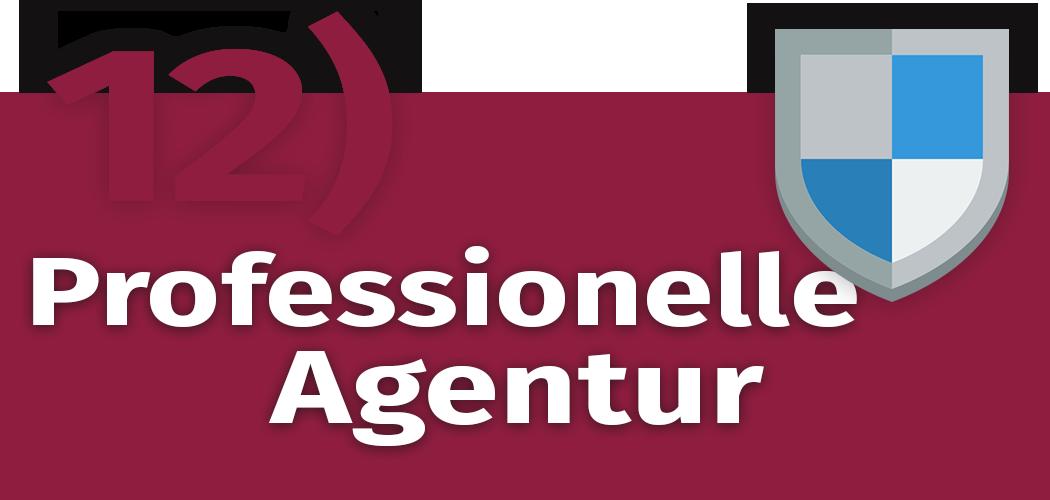 Schriftzug: Richtige Agentur für Content-Marketing finden.
