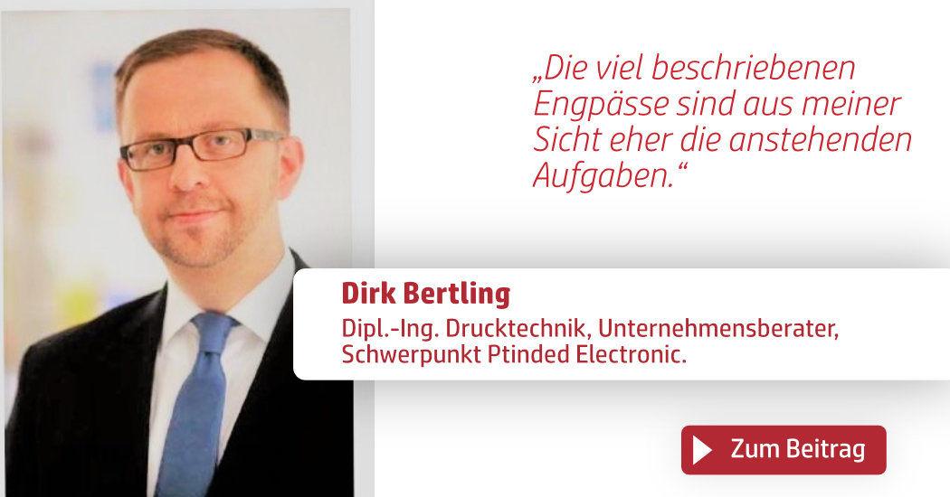 Print & Digital Convention, Dirk Bertling