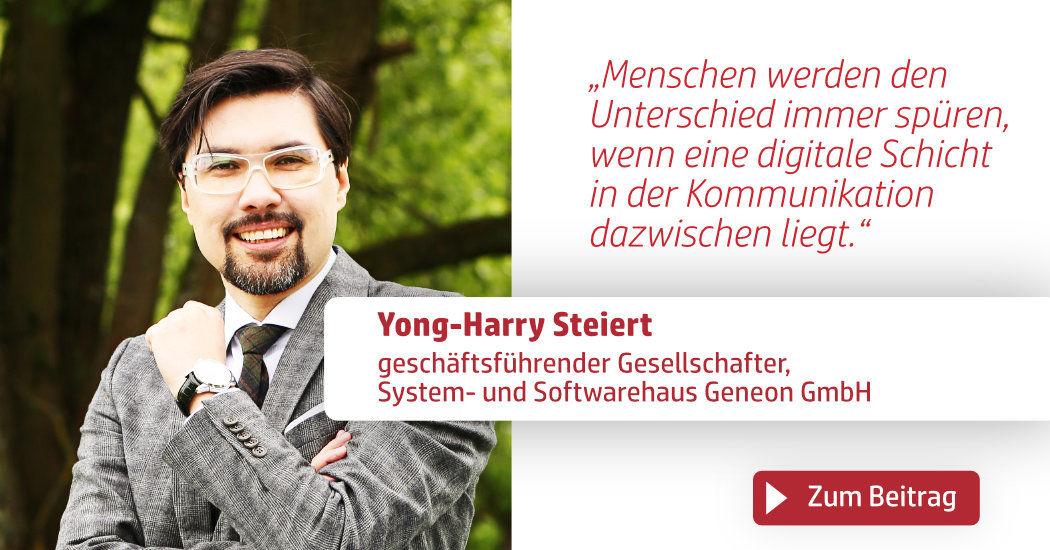 Print & Digital Convention, Yong-Harry Steiert