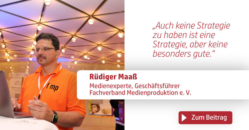 Print & Digital Convention, Rüdiger Maaß