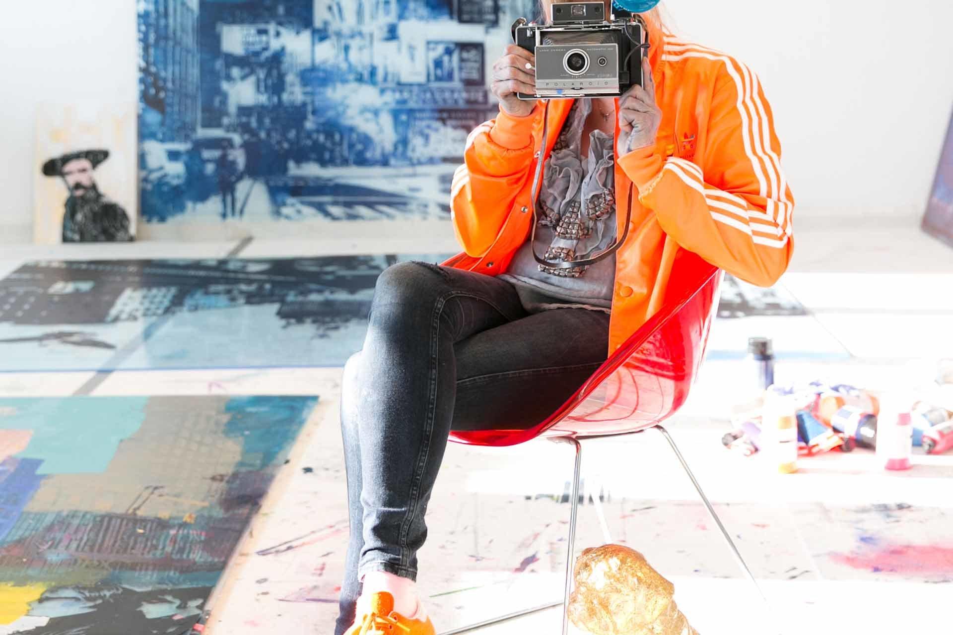 Künstlerin Sandra Rauch
