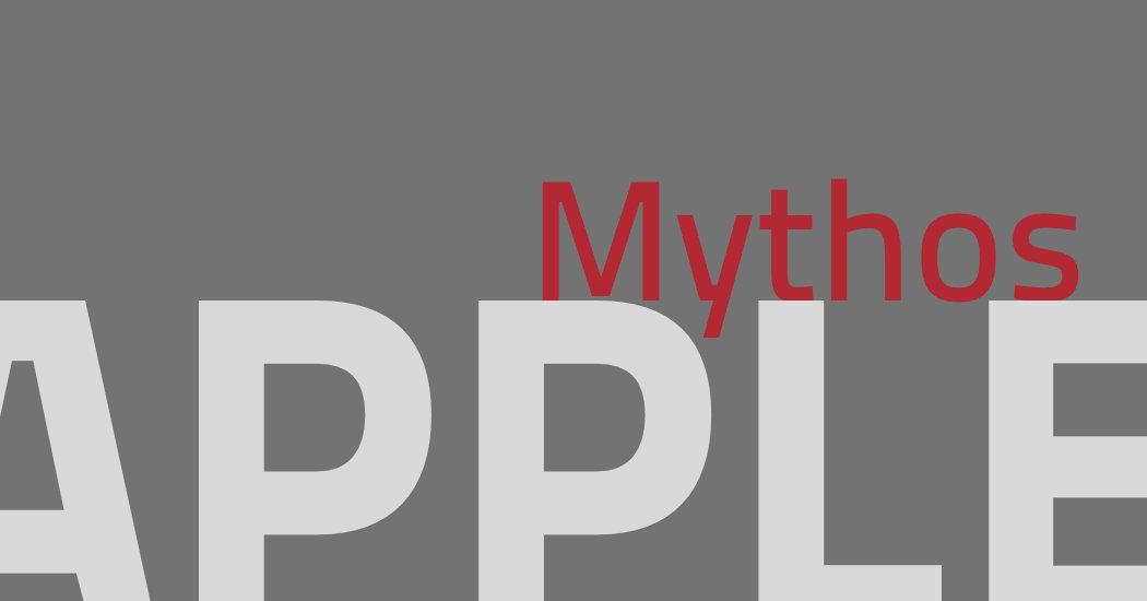 Mythen und Fakten über das Apple-Logo