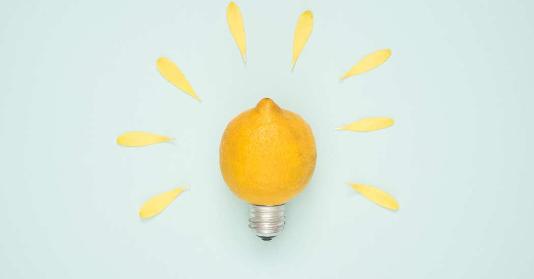 Idee, Zitrone
