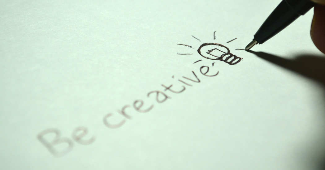 Zeichnung Be Creative