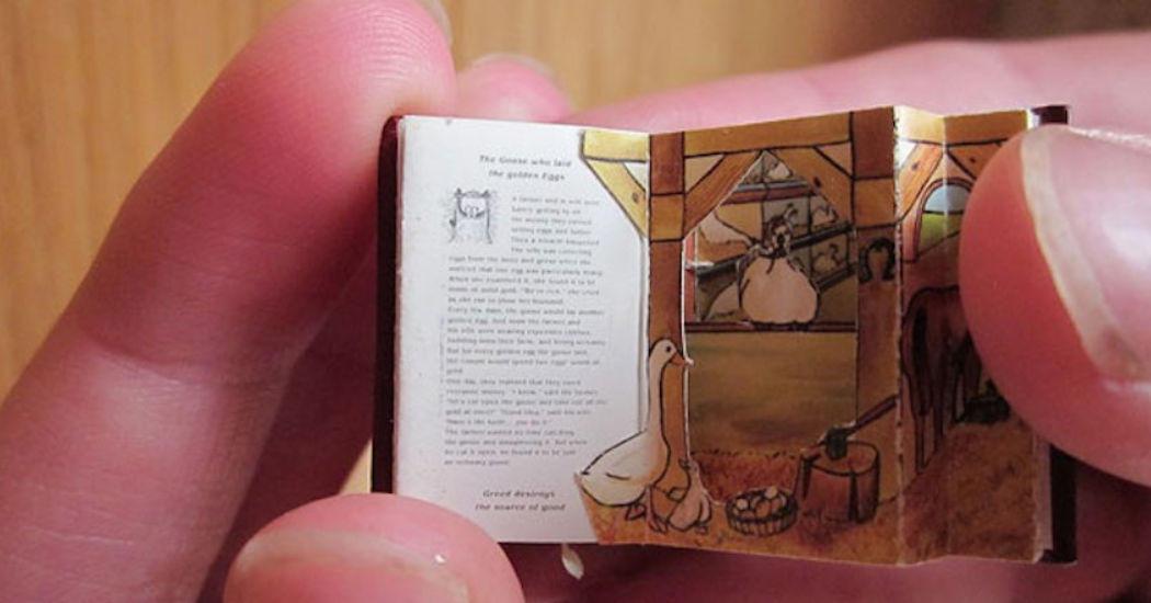 Kleinstes Buch der Welt