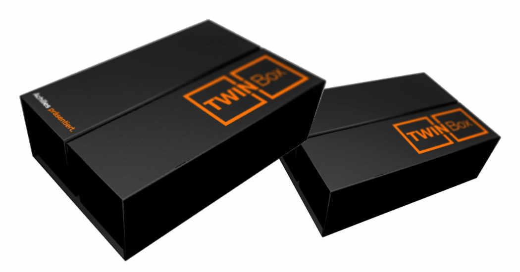 Twinbox, Doppelbox, Magnetbox Achilles