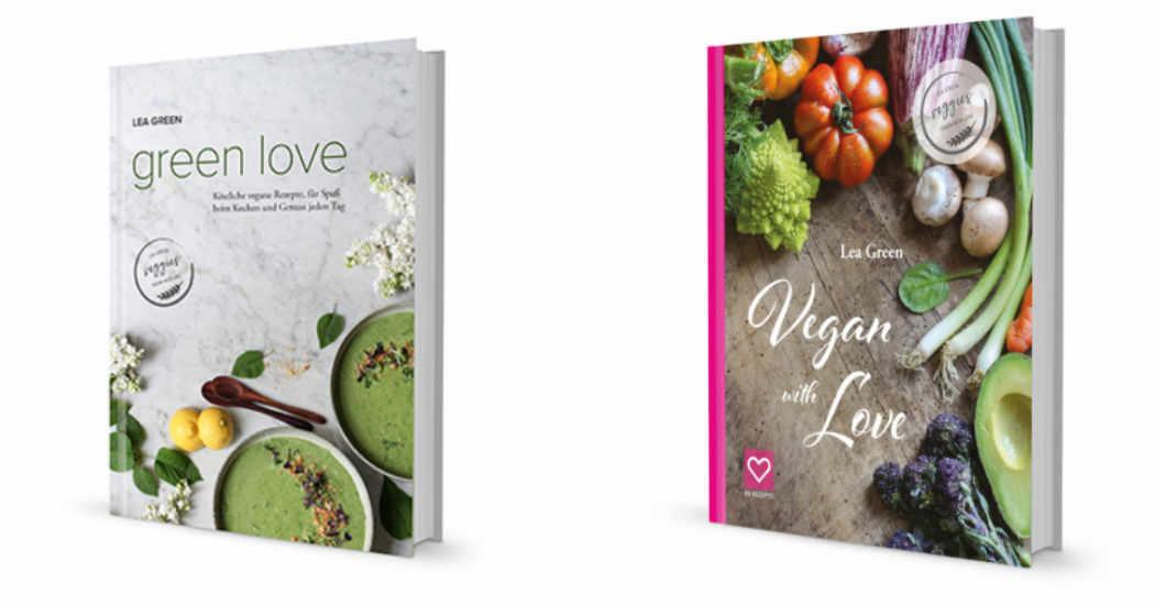 Vegan geduckte Bücher