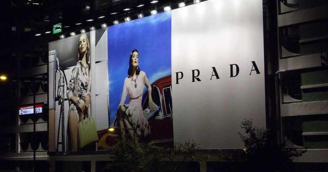 Werbung Prada, Werbeumfeld