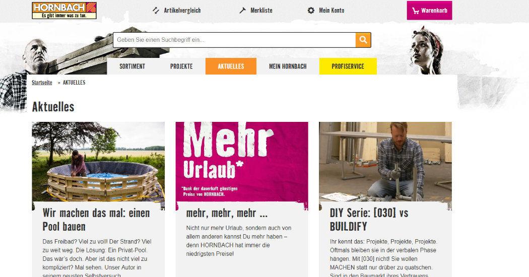 Hornbach-Content-Marketing