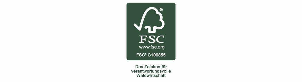 FSC-Label für Druckereien
