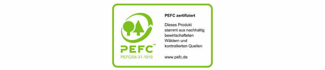 PEFC-Label für Druckereien