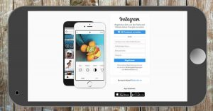 Instagram-Startseite