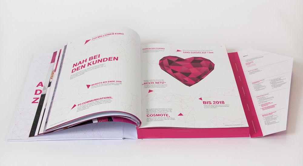 Druckstudio Gruppe, Geschäftsbericht Telekom
