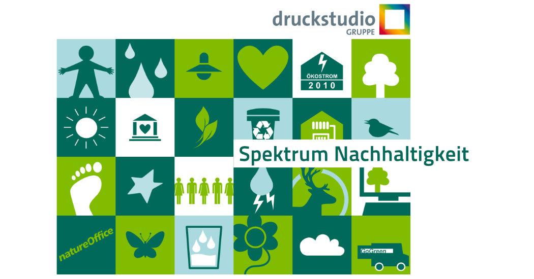 Nachhaltigkeit Druckstudio Gruppe