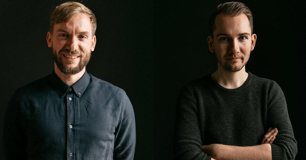 Benjamin Redeleit und Niklas Krone