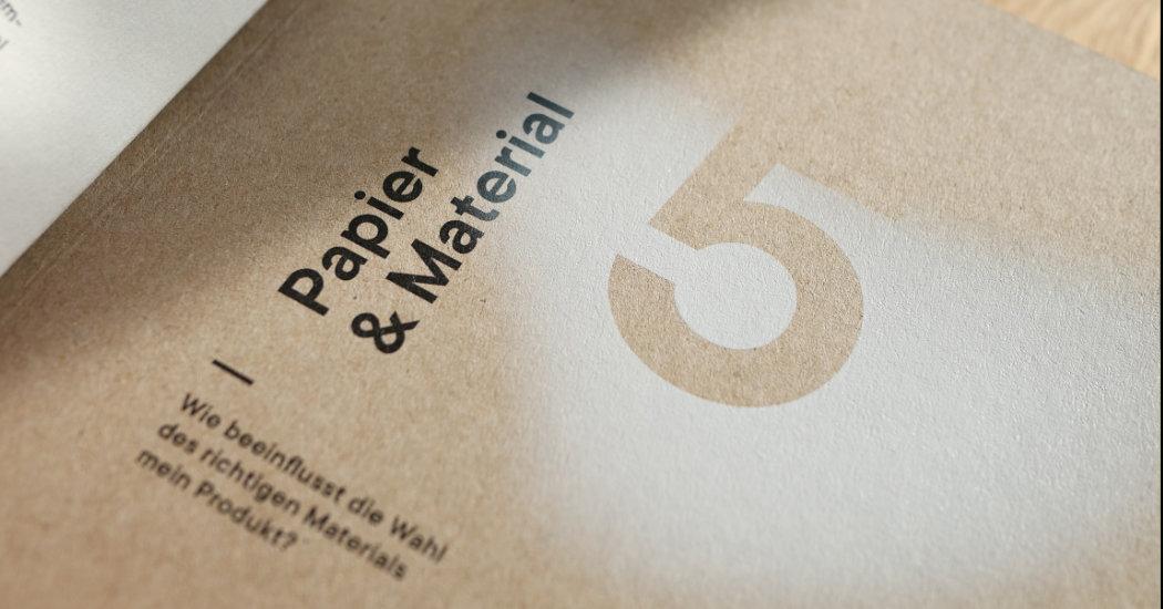 Digitaldruck umweltgerecht mit kleinen, personalisierten, veredelten Auflagen