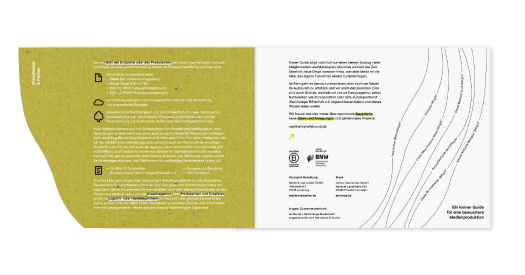 Kunturgestanztes Druckwerk in verschiedenen Schichten
