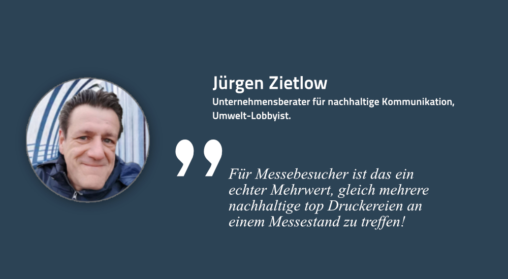 Jürgen Zietlow, Initiator der Initiative UmDEX und KSB, Fachjournalist