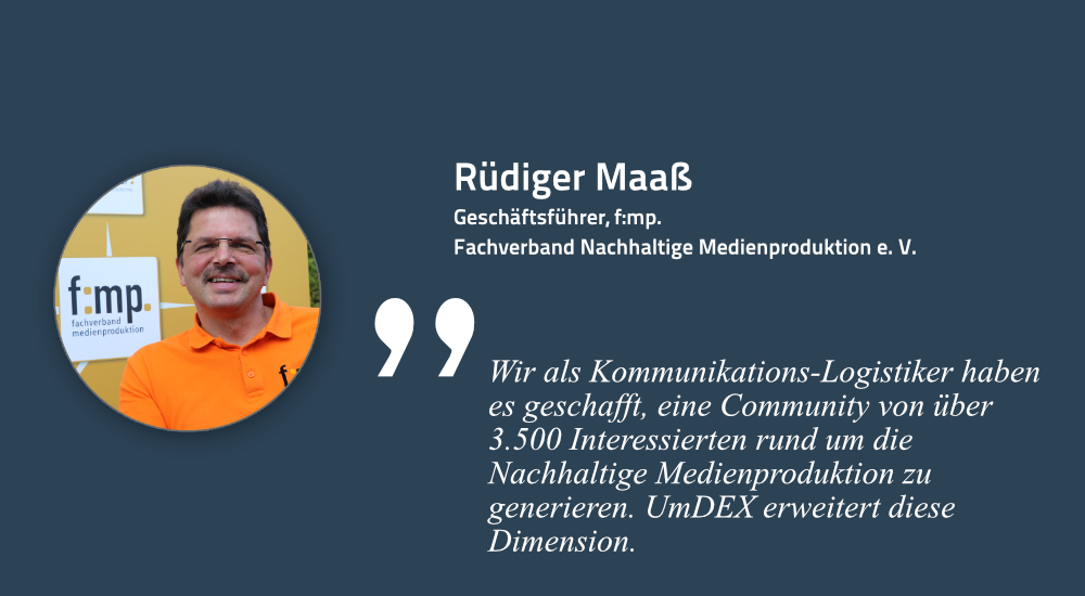 Rüdiger Maaß, Geschäftsführer Fachverband Medienproduktion e. V.