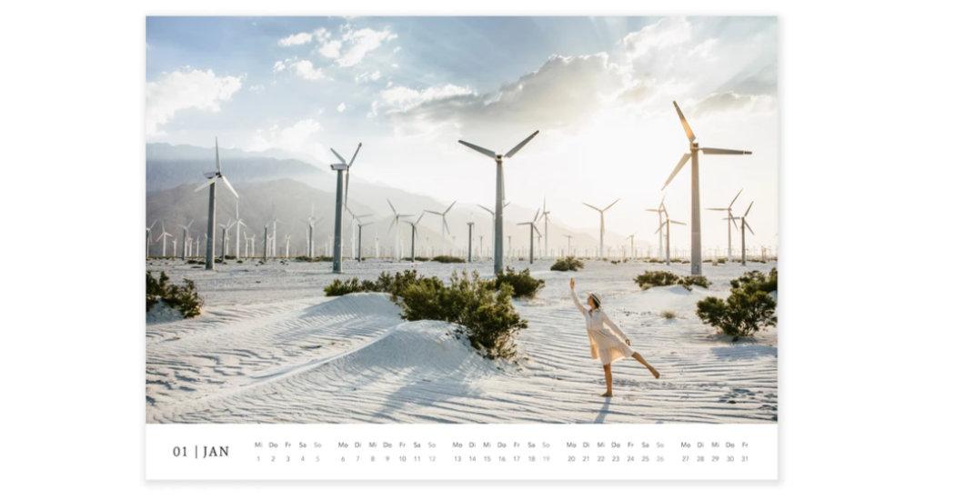 Yoga-Kalender, Blauer Engel RAL UZ 195